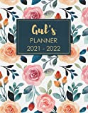 Gul's Planner 2021 - 2022: Weekly & Monthly Large Planner With Tabs- January 2021 - December 2022 // Personalized Name Planner and Elegant Gift Idea ......