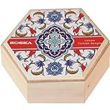Koksa Rose y limón Delicia turca Caja de madera 250 g