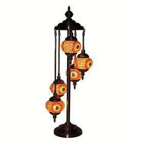 Lámpara Turcade pie, Suelo Salon Decor Lámpara Oriental
