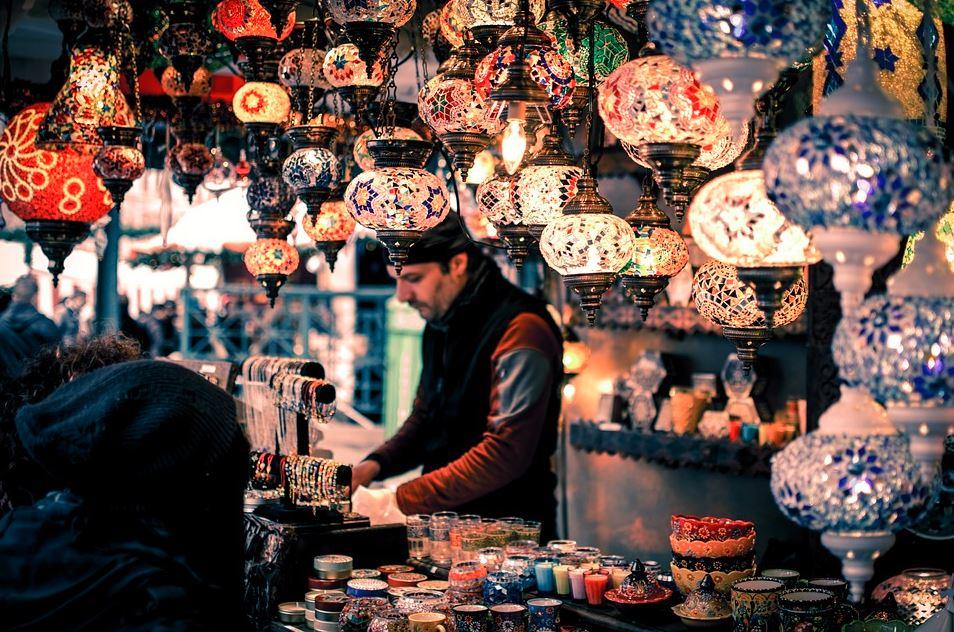Tienda de Turquía donde comprar una lámpara turca de segunda mano